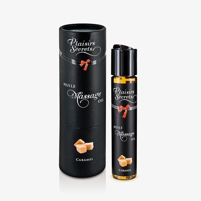 Huile de massage gourmande Caramel